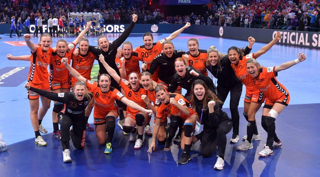 Teamfoto Oranjedames
